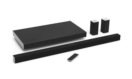 SB4051-D5 40 Inch Vizio SmartCast 5.1-Channel Sound Bar System w/Wireless Sub woofer (Manufacturer Refurbished) - $249.99 + Tax + Shipping or SB4551-D5 45 Inch for $338.99