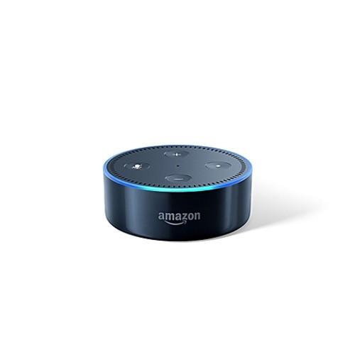 Amazon Echo Dot in Black/White (2nd Generation) $29.99