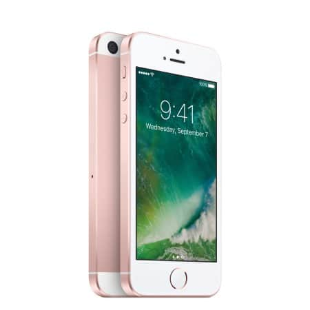 Straight Talk Apple iPhone SE 32GB Prepaid Smartphone ( Space Gray/Rose Gold ) for 129.00$