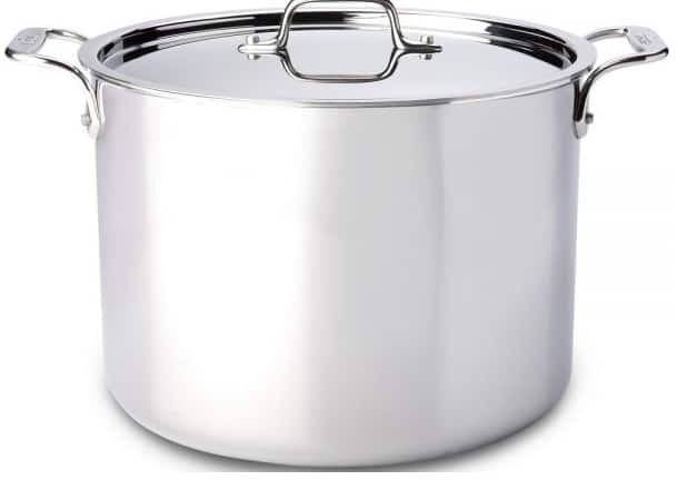 All-Clad Factory Seconds Memorial Day Deals - 12 Qt. Stainless Stockpot $189.95
