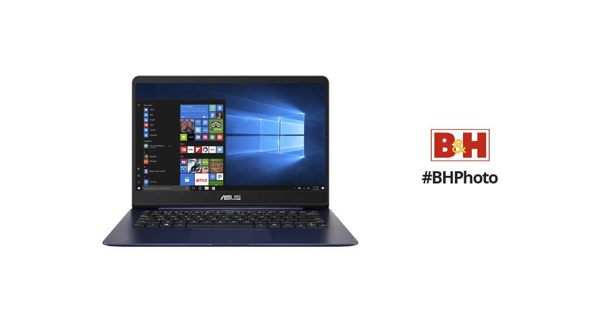 "ASUS 14"" ZenBook UX430UA Notebook (Royal Blue) $799 + FS i7-7500U/8GB/256GB SSD"