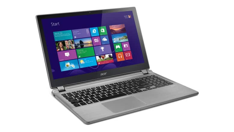 Acer Aspire V7-582PG-6421 Touchscreen Ultrabook, 15.6-inch Full HD touchscreen Intel Core i5-4200U 8 GB memory/1 TB HDD + 20 GB SSD Up to 6.5 hours battery life, $649