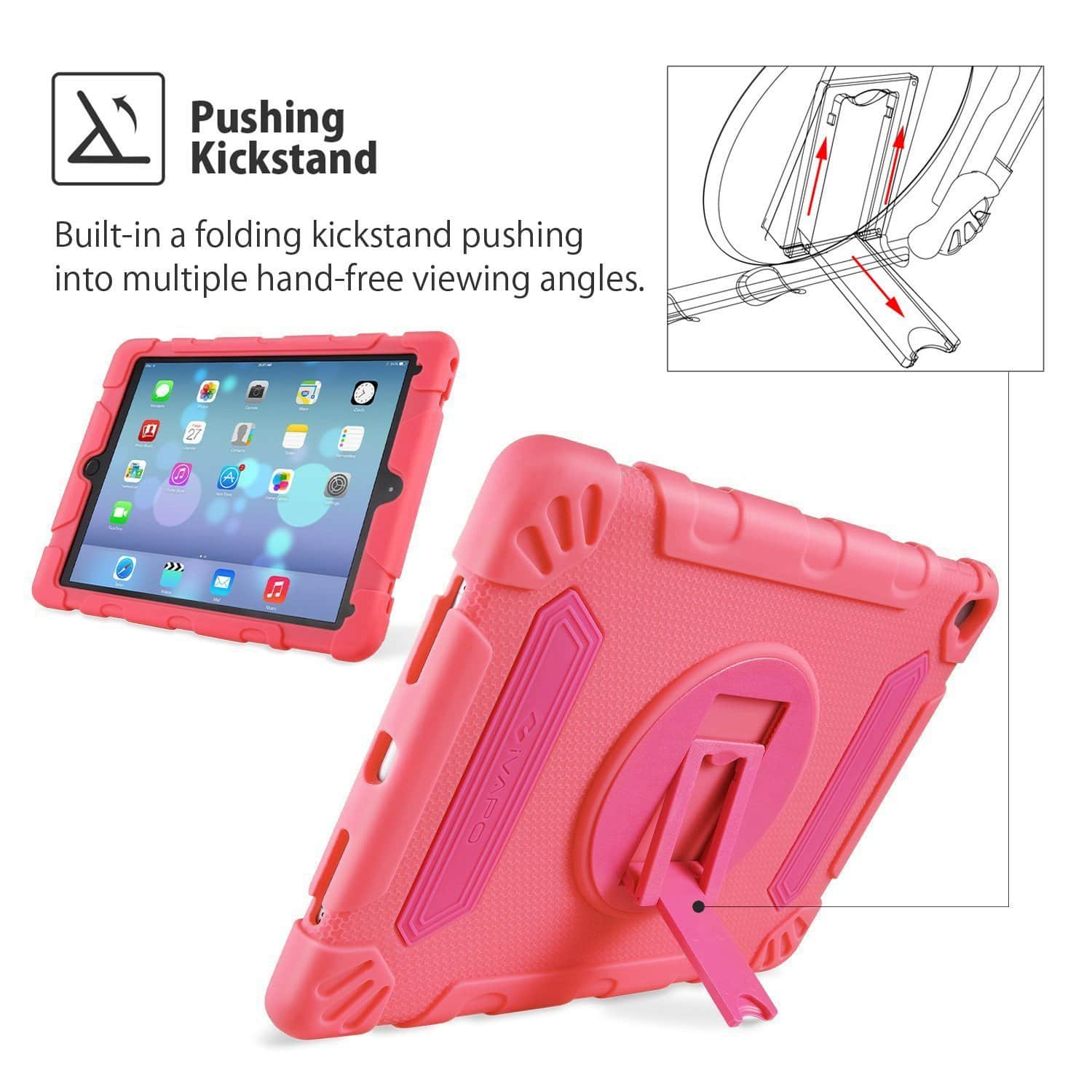 Up to 65% Off iPad Pro 9.7 inch Protective Case/iPad Mini 4 Black Case Coupon $6.99