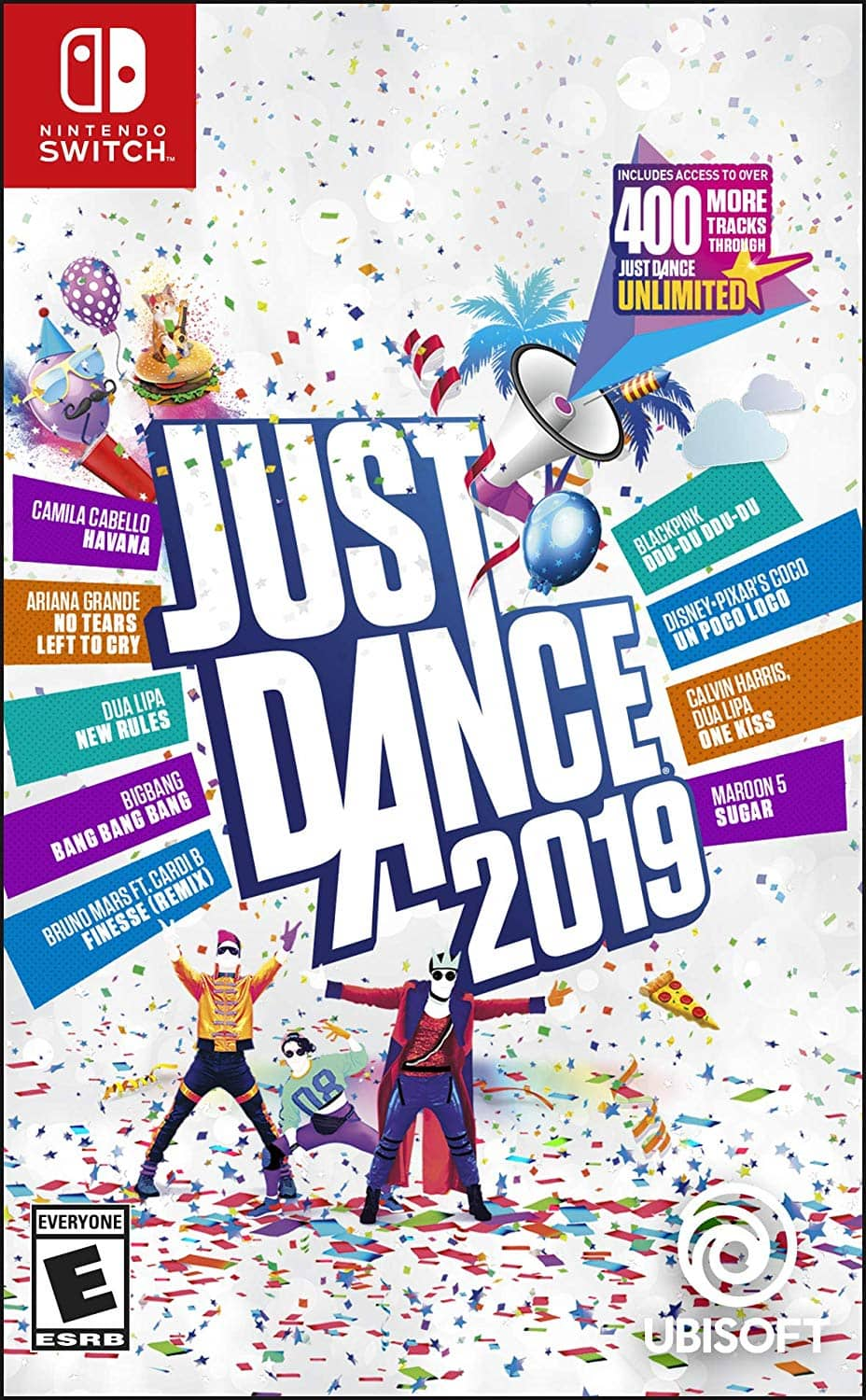 Just Dance 2019 (Nintendo Switch, PS4, Xbox One, Xbox 360, Wii) $29.88 + Free Shipping