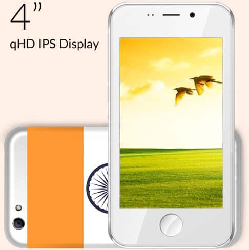 $4 Smartphone (Made in India) Freedom 251 Pre-orders start 02/18/2016