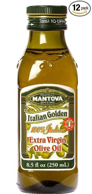 Add on item: Mantova Italian Golden Extra Virgin Olive Oil, 13 Pound (Pack of 12) $4.99