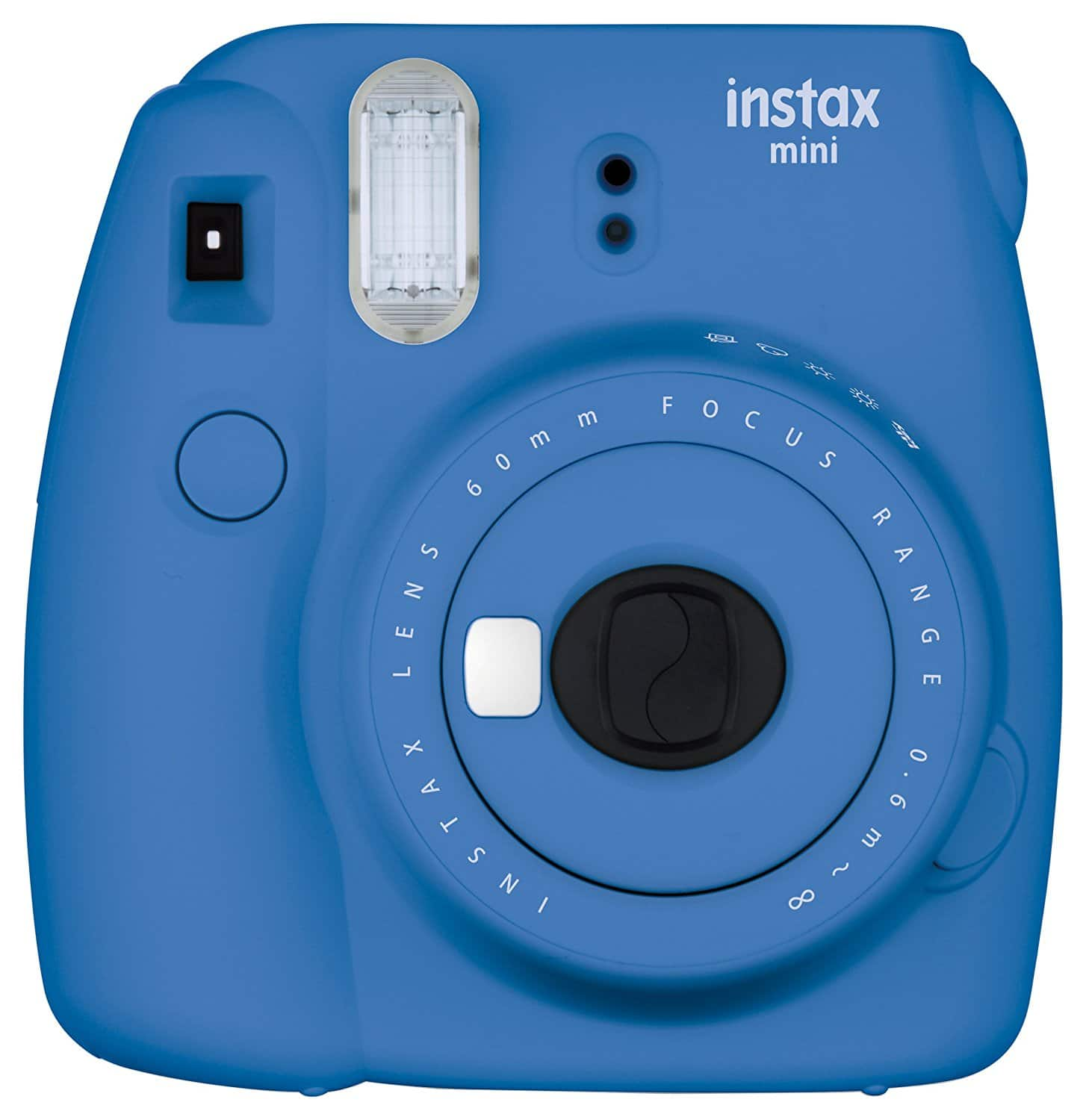 Fujifilm Instax Mini 9 Instant Camera - Cobalt Blue, $48.59 +tax after clipping 15% off coupon (YMMV) prime FS