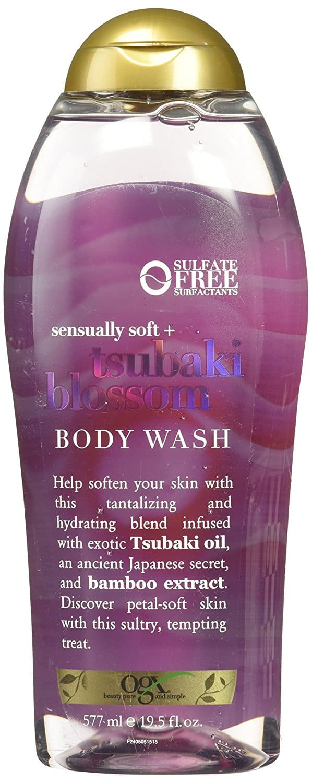 OGX Sensually Soft + Tsubaki Blossom Body Wash, 19.5 Ounce, $3.08 add-on, or as low as $2.62 w/sub&save