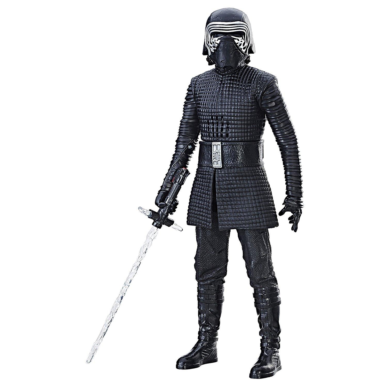 add-on item: Star Wars Interachtech Kylo Ren Electronic Figure, $4.57, FS w/Alexa