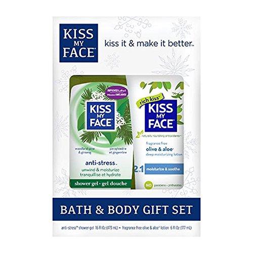 Add-on item: Kiss My Face Bath & Body Gift Set, $4.84