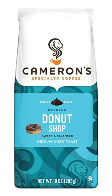 Cameron's Coffee Donut Shop Blend, 10 Ounce Bag, $4.08 (or less) AC and SS