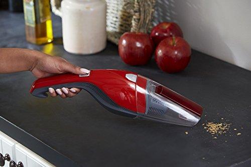 Dirt Devil Handheld Vacuum Cleaner Lithium Cordless Red Hand Vacuum $12.75