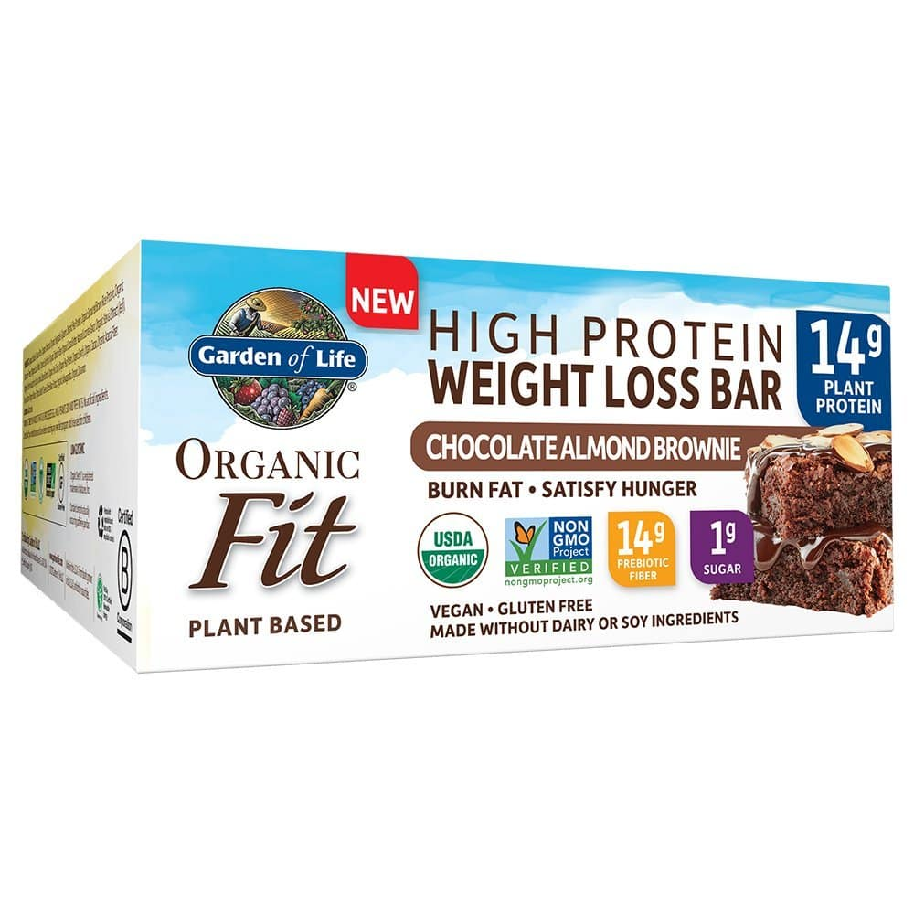 Price Mistake: Garden of Life Organic Fit Bar Chocolate Almond Brownie (12 per carton) $3.65