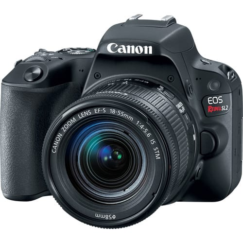 Canon EOS 200D (Rebel SL2) 24MP SLR with EF-S 18-55mm $599 + FS