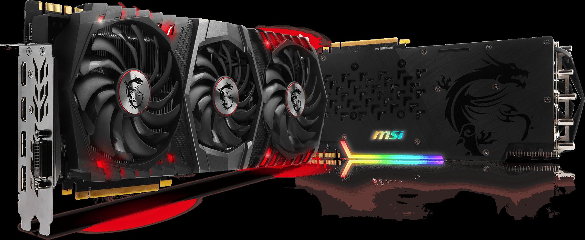 MSI GeForce GTX 1080 Ti GAMING X TRIO  TECH $729.99
