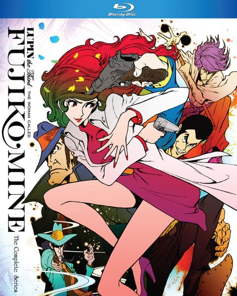 Lupin the 3rd The Woman Called Fujiko Mine Blu-ray Pre-Order Release Date: 3/30/2021