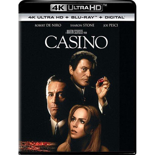 Casino (4K Ultra HD + Blu-ray + Digital) $11.39