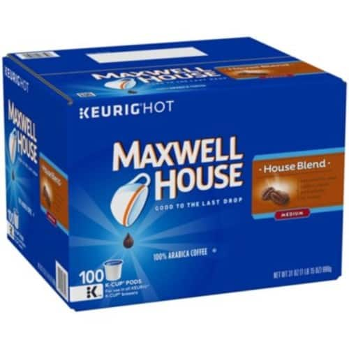 Maxwell House - House Blend Coffee (100 K-Cups) - Sams Club $28.98