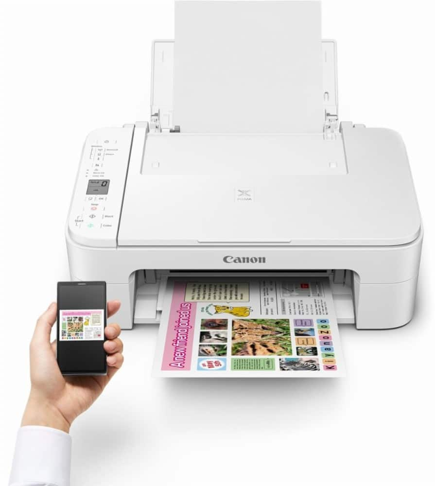 Canon Pixma TS3120 Wireless All-in-One Inkjet Printer + $30 store credit @ Best Buy B&M Only