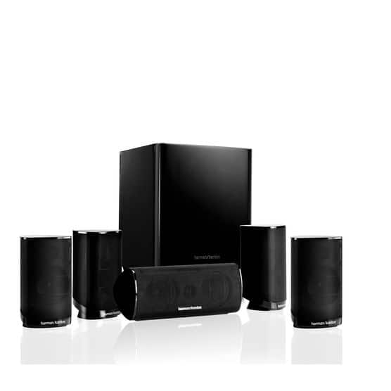 HKTS 9  5.1-channel home theater speaker system $154