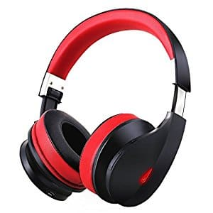 Wireless Bluetooth Headphones, On Ear Stereo Bass Bluetooth Headsets with Built in Microphone for PC/ Cell Phones/ TV-AH2  @Amazon $24.99
