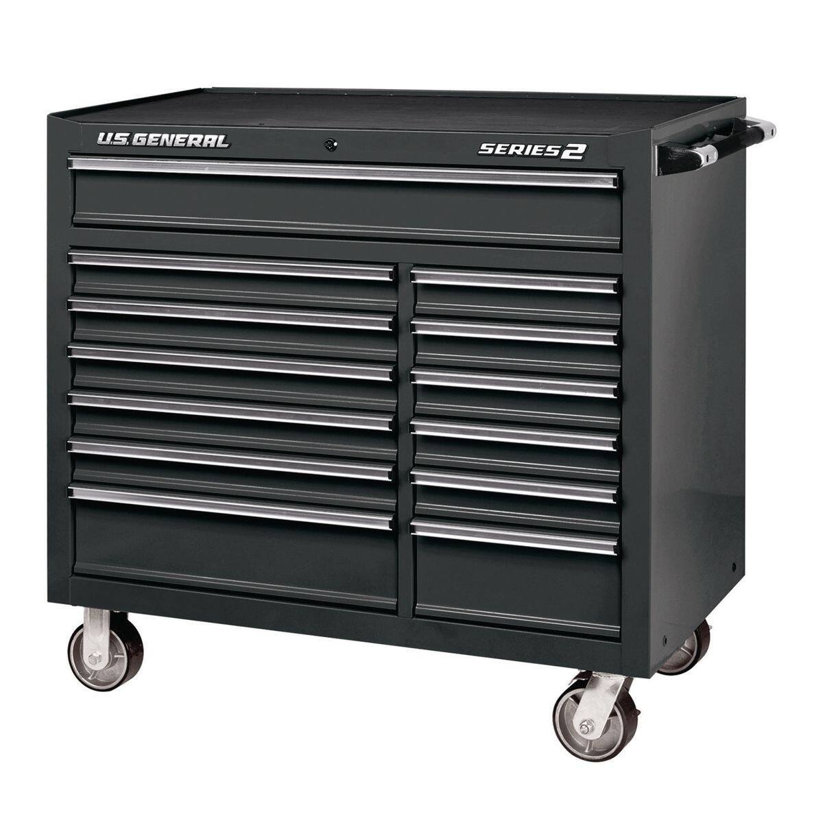 Harbor Freight US General 2 - 44 In. X 22 In. Double Bank Roller Cabinet $449