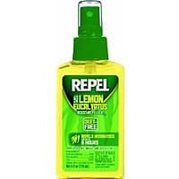 Amazon Deal: Repel Lemon Eucalyptus Natural Insect Repellent, 4-Ounce Pump Spray $4.97 free Shipping ADD ON