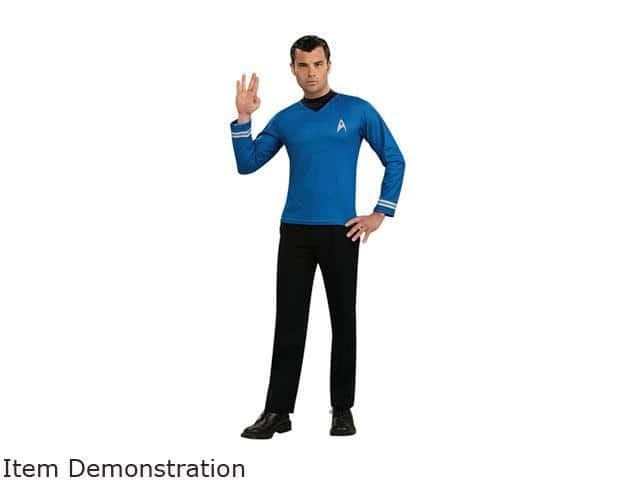 Star Trek Spock Costume Adult Medium $7.80 AC, Free Shipping
