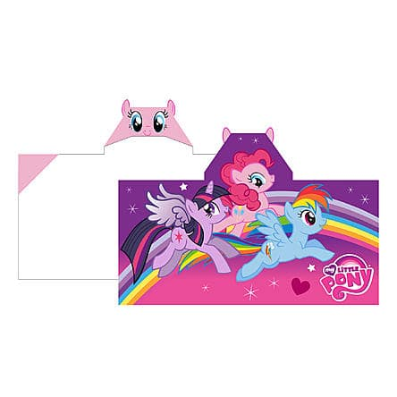 Hasbro My Little Pony Kids Hooded Towel Wrap – Pony Charm $12.99