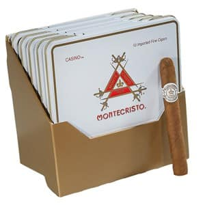 Montecristo White Cigars - Bricks of 50 for just $37.50 + Free Shipping