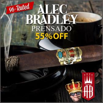 Alec Bradley Prensado 5-packs on Sale (and many others)