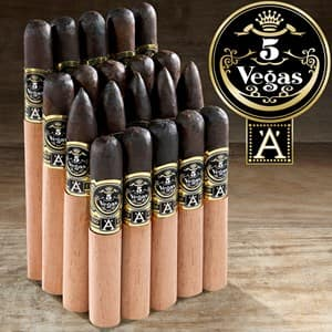 20 cigars - 5 Vegas Series 'A' Mega-Sampler + 5-Pack for $5 more! $39.99