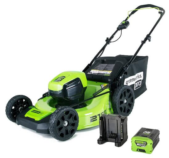 Lowes (YMMV) Greenworks Pro 60-Volt Brushless Lithium Ion Push 21-in Cordless Mower, $199.50