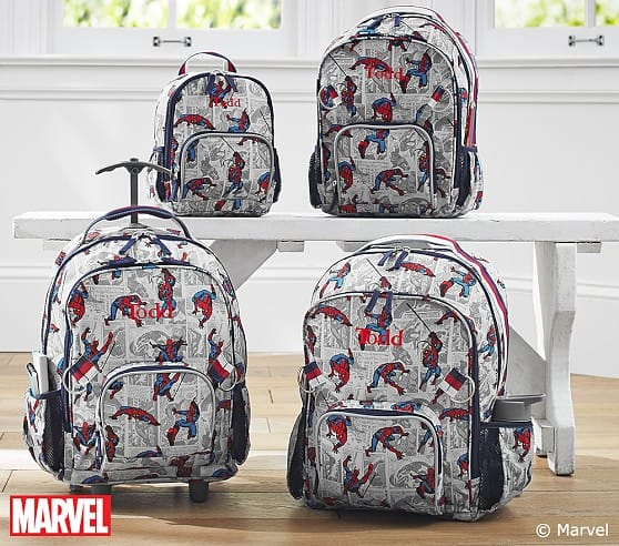 Pottery Barn Kids backpacks $9.99 and up + free shipping