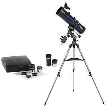 Celestron AstroMaster 130EQ with Eyepiece Kit - $150