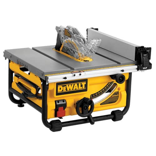 "DeWALT 15A 10"" DWE7480 Table Saw $300 +tax FS CPO Outlets $299.99"