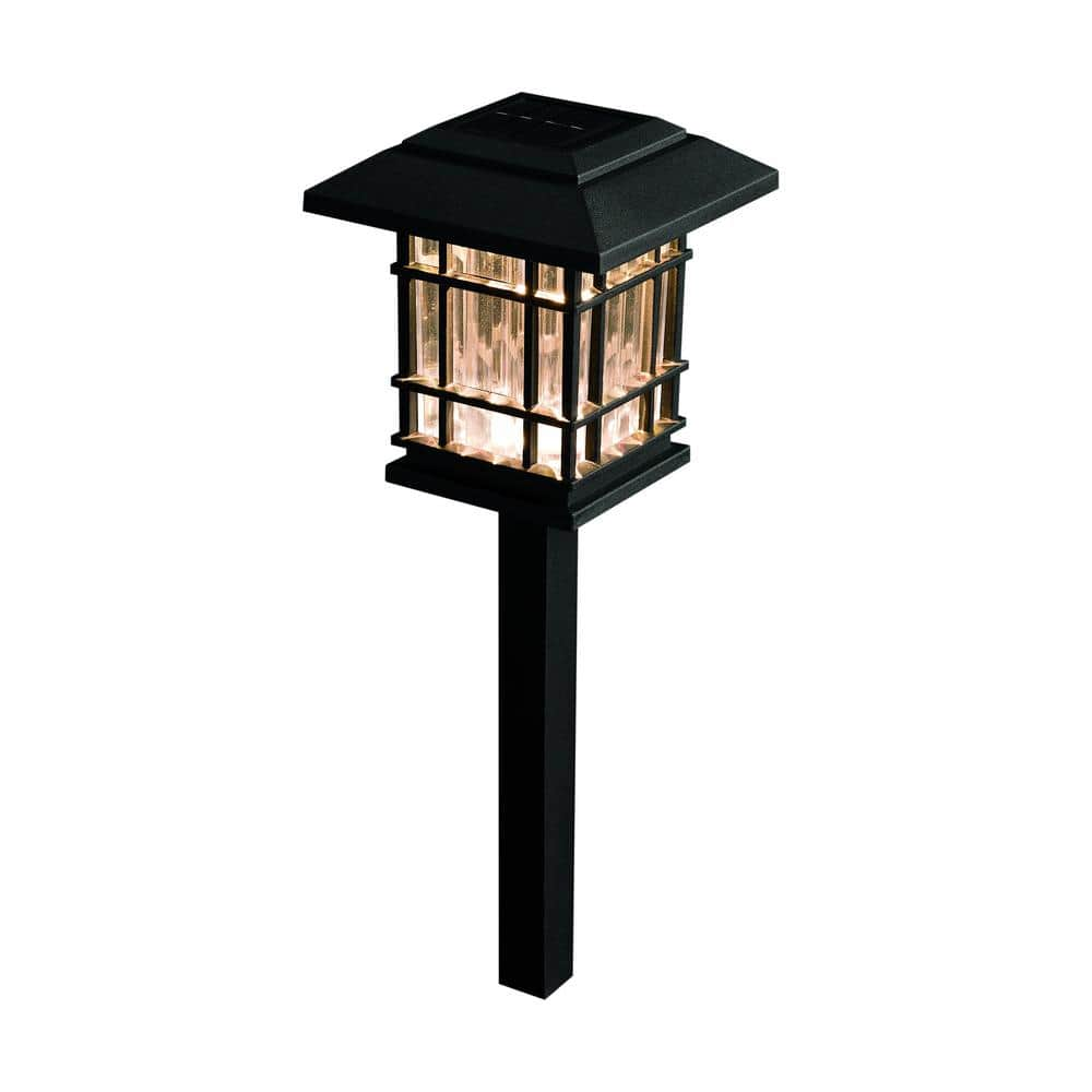 Various Hampton Bay Outdoor Solar Landscape lights @ Home Depot $12.88