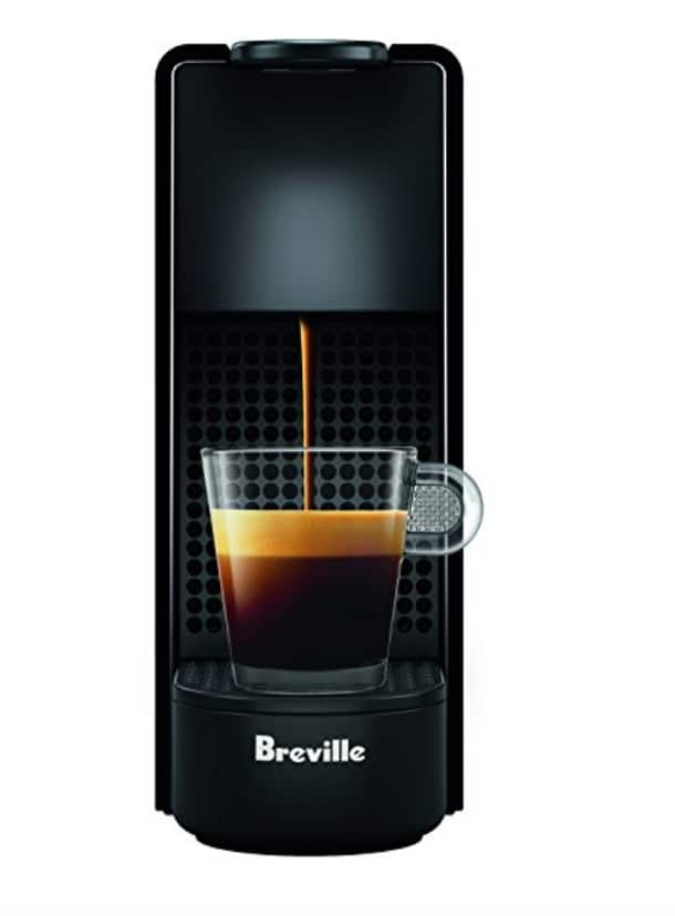 Great Deal! Nespresso Essenza Mini Espresso Machine by Breville, Piano Black $74.95