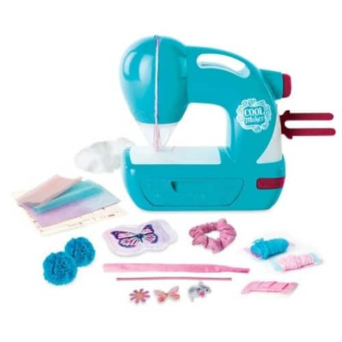 Cool Maker Sew N' Style Sewing Machine with Pom Pom Maker Attachment $22
