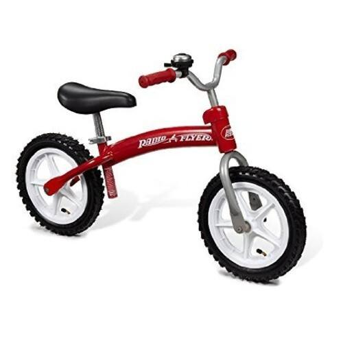 Radio Flyer Glide N Go Balance Bike with Air Tires [Standard Packaging] 39.19 with free prime shipping $39.19