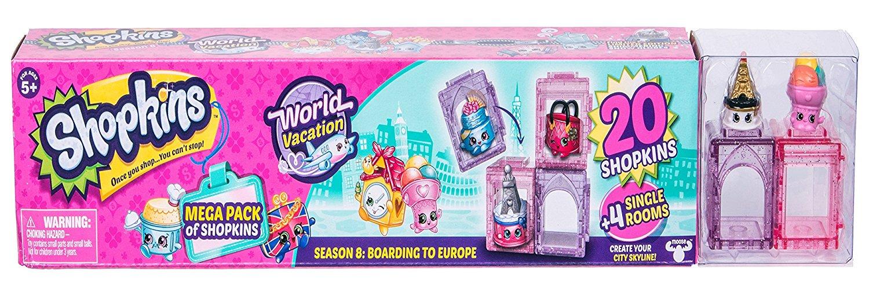 Shopkins World Vacation (Europe) -Mega Pack add-on item $4