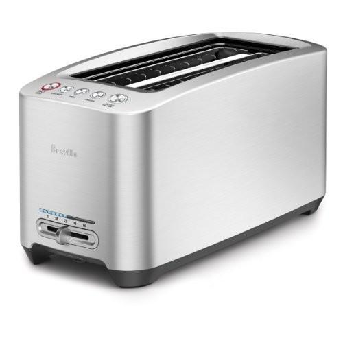 Breville BTA830XL Die-Cast 4-Slice Long Slot Smart Toaster $99.95