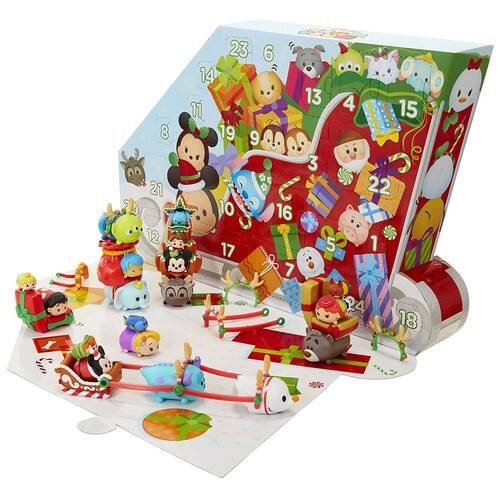 Tsum Tsum Disney Countdown to Christmas Advent Calendar Playset - Deal of the Day $25.97