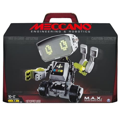 Meccano-Erector M.A.X Robotic Interactive Toy with Artificial Intelligence [Standard Packaging] $69.98