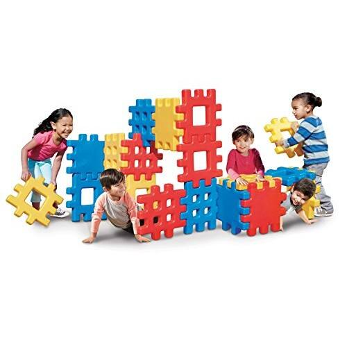 Little Tikes Big Waffle Block Set - 18 pieces $51 $50.25