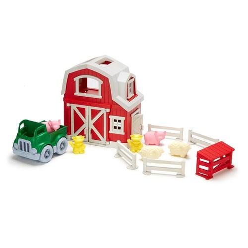Green Toys Farm Playset $17.34