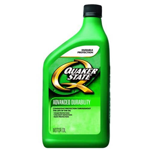 Quaker State Advanced Durability 5W30 Motor Oil, 1 qt $1.54 B&M