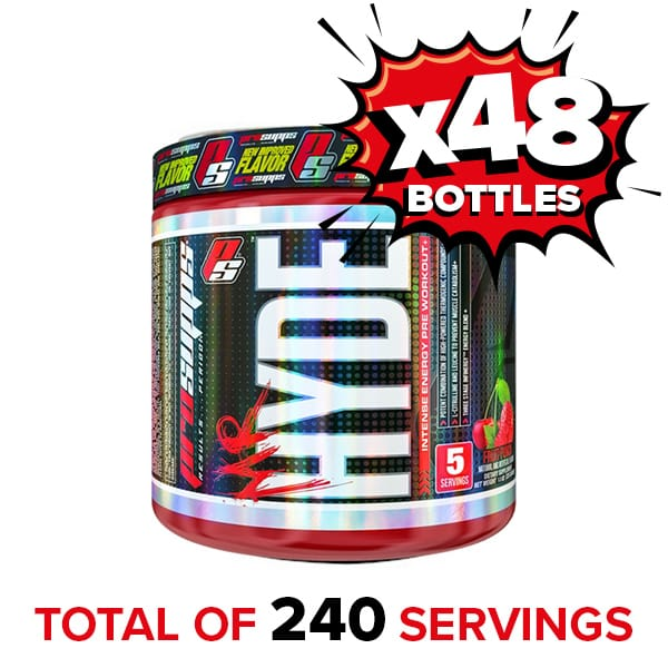 ProSupps MR.HYDE Pre Workout Fruit Punch 5 servings x 48 bottles 240 Servings for $80