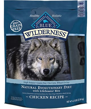 Blue Buffalo Wilderness Dog Food 24# Bag - $42.07 shipped