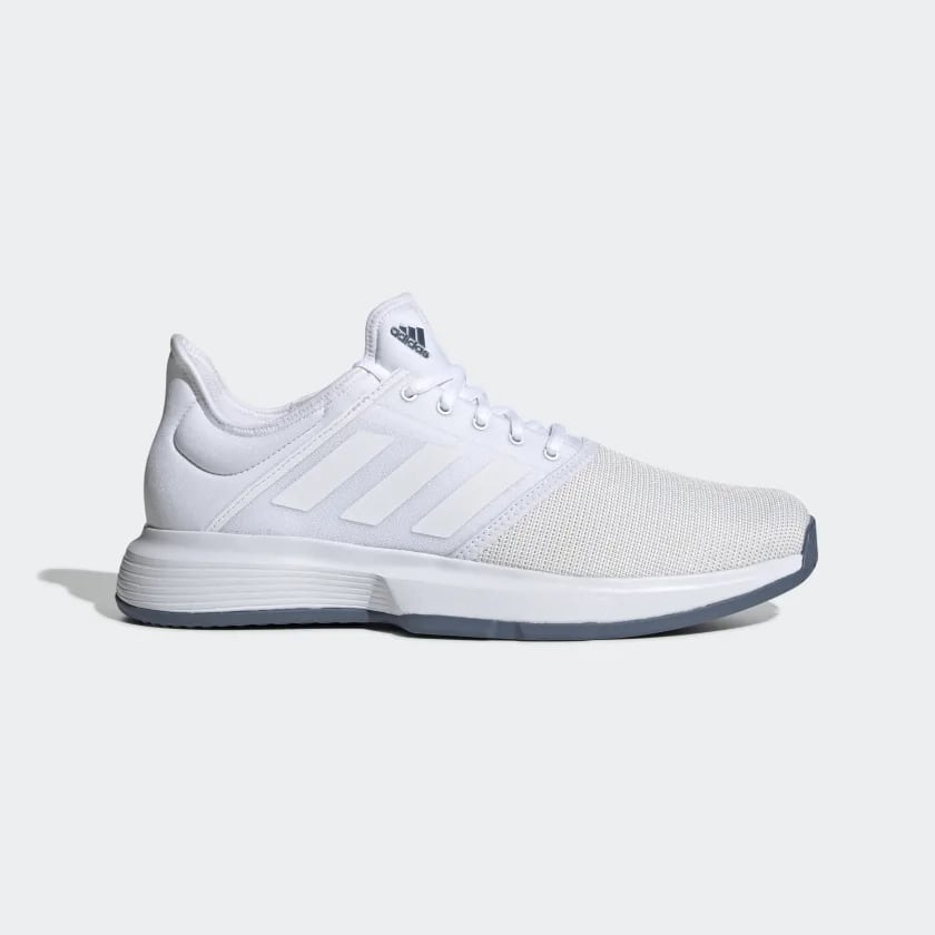 Tennis shoes: Adidas Gamecourt white $33 + tax free shipping